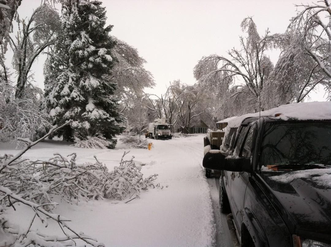 Storm Damage   Ice Storm